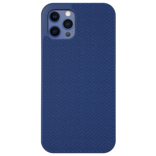 Чехол-накладка Evutec Aergo Ballistic Nylon для Apple iPhone 12/12 Pro синий