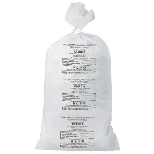 Мешки для мусора Аквикомп Класс А 100 л (20 шт.) белый