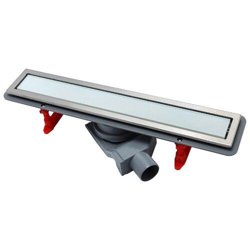 Лоток для душа PESTAN Confluo Premium White Glass Line 450 (13000281)
