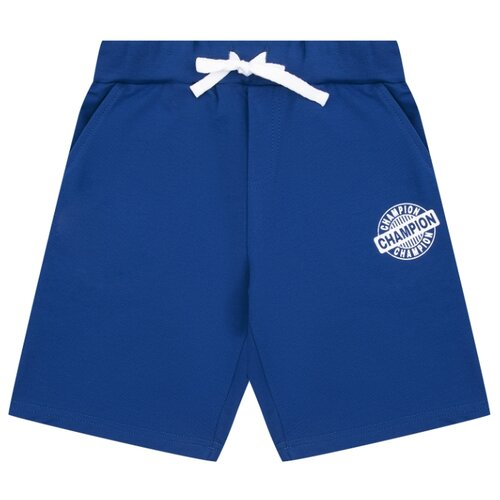 Фото - Шорты Leader Kids Спорт и числа размер 152, синий шорты leader kids размер 152 белый розовый голубой