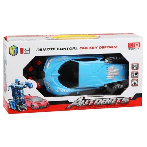 Купить Робот-трансформер XingFeng Toys Autobots голубой, Роботы и трансформеры