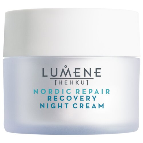 Lumene Hehku Nordic Repair Celestial Radiance Recovery Night Cream Восстанавливающий ночной крем-уход, возвращающий сияние для лица, 50 мл крем lumene kirkas radiance boosting cleansing cream 150 мл