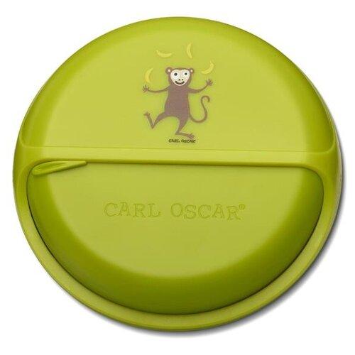 Фото - Carl Oscar Ланч-бокс для перекусов BentoDISC lime термокружка carl oscar click n´sip 0 4 л белый