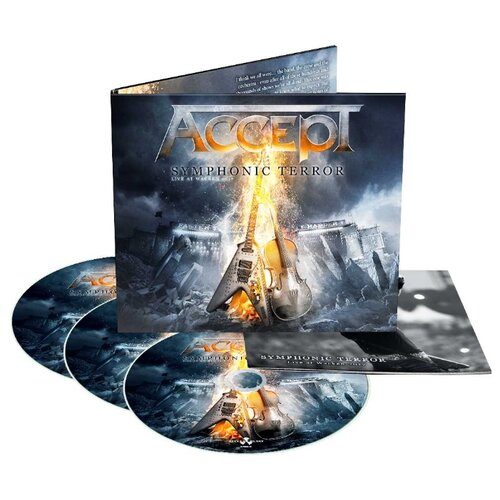 Accept – Symphonic Terror Live At Wacken (2 CD + DVD) макс бойс max boyce live at treorchy we all had doctors papers 2 cd