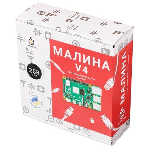 Электронный конструктор Амперка Малина AMP-S057 V4 (2 ГБ) амперка набор йодо амперка