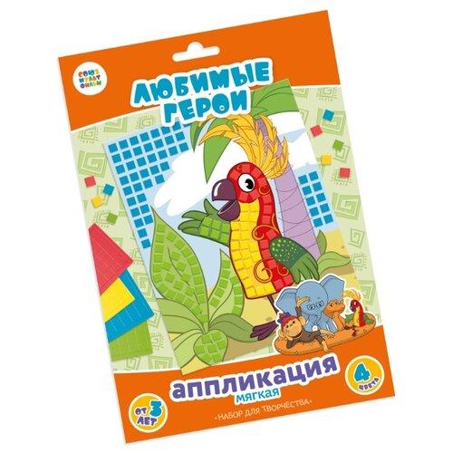 Купить Десятое королевство Набор для творчества Аппликация 38 попугаев (02921), Поделки и аппликации