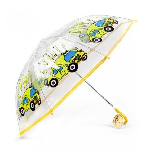 Зонт Mary Poppins бесцветный/желтый