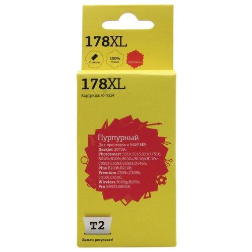 Картридж T2 IC-H324, совместимый картридж t2 cb324he 178xl ic h324