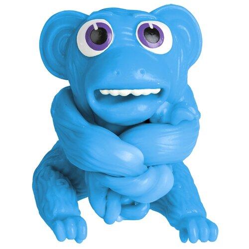 Игрушка-мялка 1 TOY Супер Стрейчеры. Облизьяна Т18657 синий