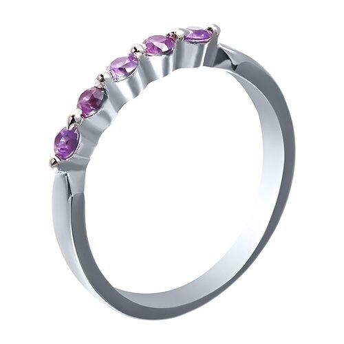 JV Кольцо с фианитами из серебра SY-10862-R-KO-030-WG, размер 18 jv кольцо с фианитами из серебра sy 355491 r 003 wg размер 18 5