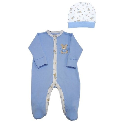 Фото - Комплект одежды Наша мама размер 68, голубой комплект одежды leader kids размер 68 голубой