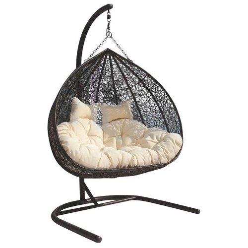 Подвесное кресло ЭкоДизайн Gemini, черный