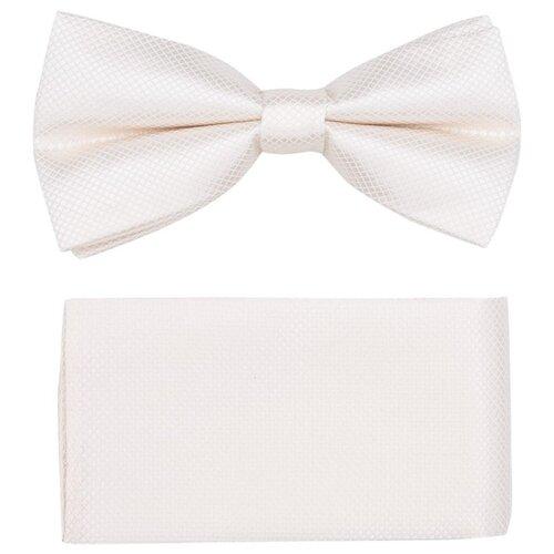 Комплект из 2 предметов OTOKODESIGN галстук-бабочка и платок 537/560 айвори