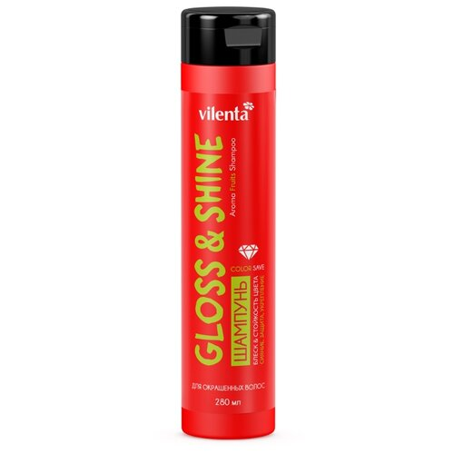 Купить Vilenta шампунь Gloss & Shine для окрашенных волос 280 мл