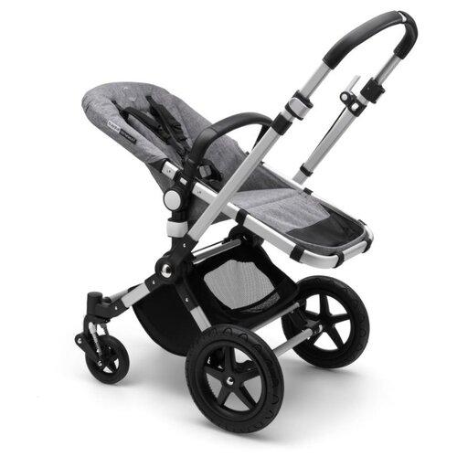 Универсальная коляска Bugaboo Cameleon 3 Plus base (2 в 1 ) (без капюшона) alu/ grey melange, цвет шасси: серебристый