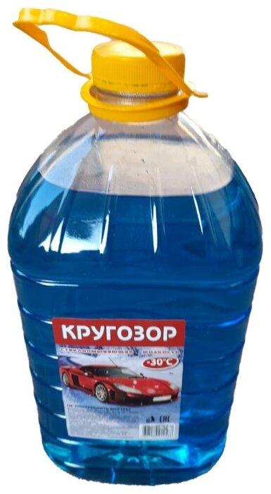 Купить Низкозамерзающая стеклоомывающая жидкость Кругозор -30 по низкой цене с доставкой из Яндекс.Маркета (бывший Беру)