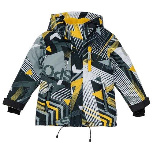 Купить Куртка Button Blue Active 220BBBA41010813 размер 128, черный, Куртки и пуховики