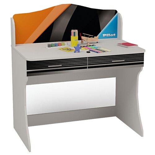 Письменный стол ABC King Pilot, ШхГ: 100х60 см, цвет: белый