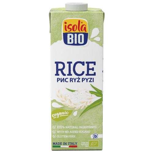 Рисовый напиток Isola Bio Rice без глютена 1 л