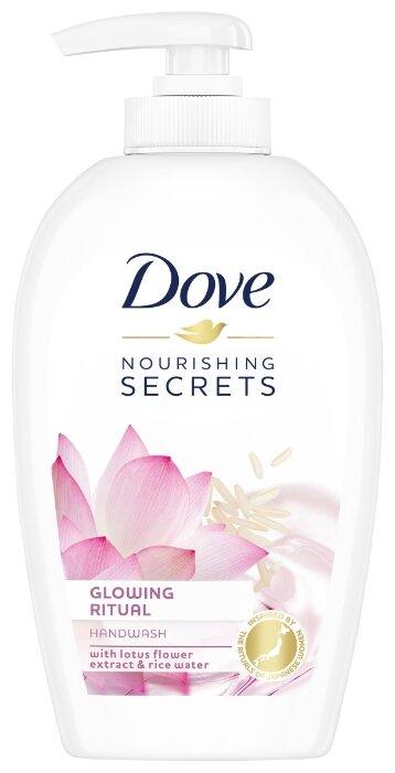 Мыло жидкое Dove Nourishing Secrets Цветок лотоса — купить по выгодной цене на Яндекс.Маркете
