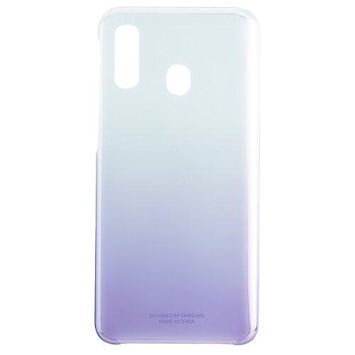 Чехол-накладка Samsung EF-AA405 для Galaxy A40 фиолетовый чехол книжка samsung galaxy a40 ef wa405p black