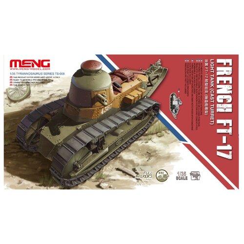 Сборная модель Meng Model French Light Tank FT-17 (cast turret) (TS-008) 1:35 meng ping ni chinas und hongkongs sozialpolitik
