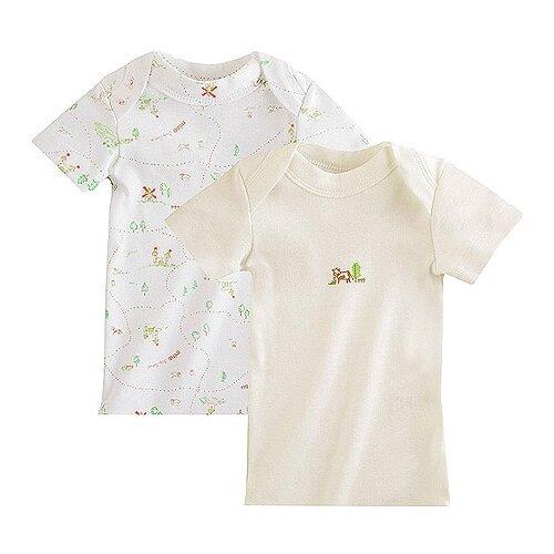 Купить Футболка Наша мама размер 68, белый/молочный, Футболки и рубашки