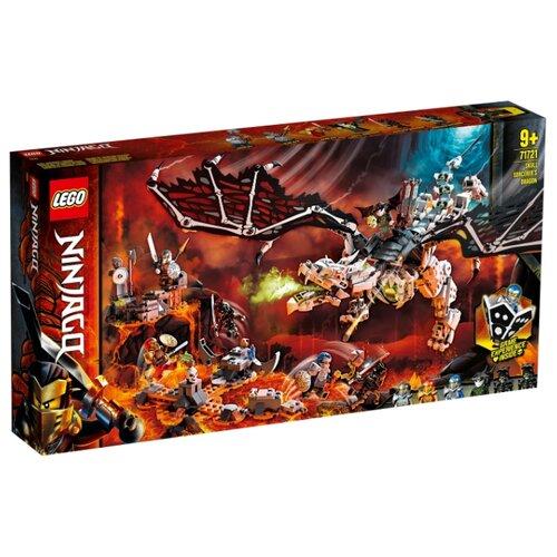 Купить Конструктор LEGO Ninjago 71721 Дракон чародея-скелета, Конструкторы