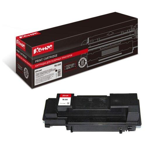 Фото - Картридж лазерный Комус TK-350 черный, для Kyocera FS-3920DN картридж лазерный комус tk 580k черный для kyocera fs c5150dn