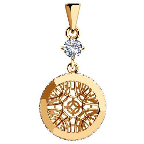 SOKOLOV Подвеска из золота с фианитом 035768