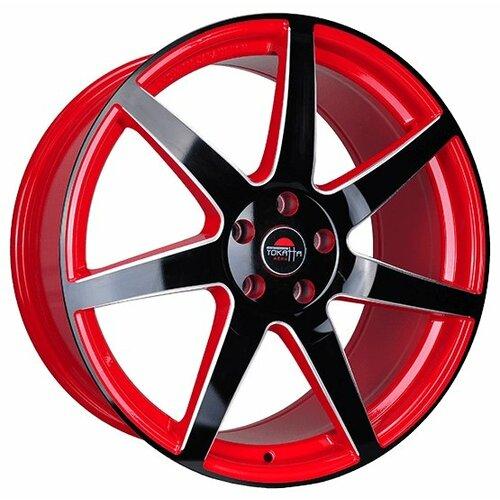 Фото - Колесный диск Yokatta Model-57 8x19/5x112 D66.6 ET39 R+B+F колесный диск yokatta model 58 8x19 5x108 d63 3 et45 sp