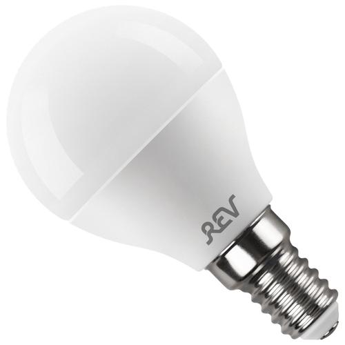 Фото - Лампа светодиодная REV 32261 0, E14, G45, 5Вт лампа светодиодная led e27 8 5вт 220v 2700к rev