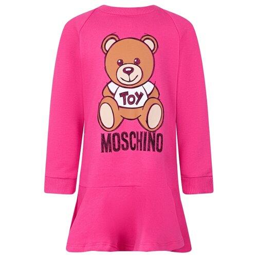 Купить Платье MOSCHINO размер 74-80, малиновый, Платья и юбки