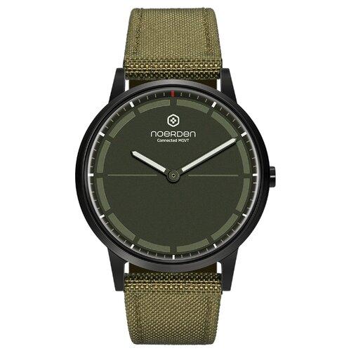 Гибридные смарт-часы Noerden MATE2+ цвет хаки