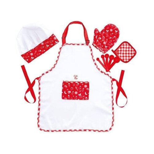 Купить Костюм Hape Шеф-повар (E3162_HP), красный/белый, размер one size, Карнавальные костюмы