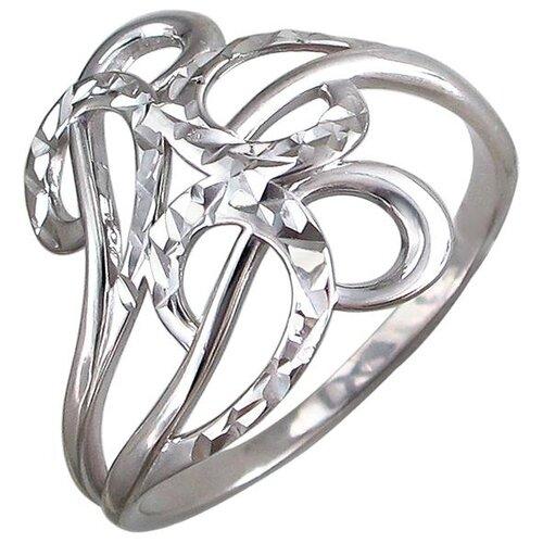 Эстет Кольцо из серебра 01К759785, размер 17 ЭСТЕТ