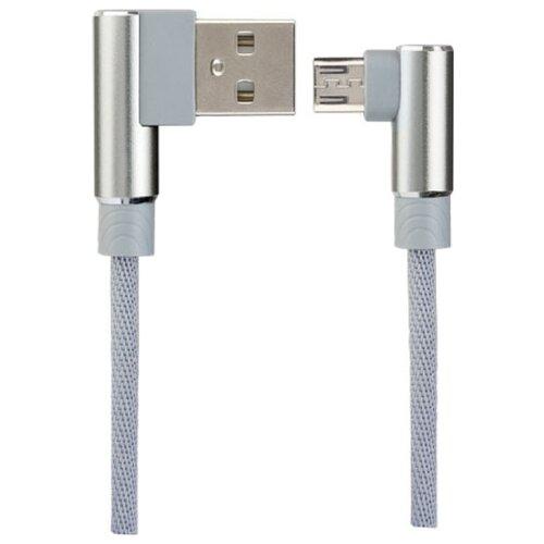 perfeo кабель usb2 0 a вилка micro usb вилка длина 1 м u4001 Мультимедийный кабель USB2.0 A вилка - micro USB вилка, серый, длина 1 м., бокс (U4805)
