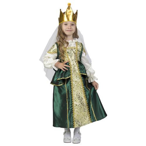 Купить Костюм Elite CLASSIC Царевна-Лягушка, зеленый, размер 28 (116), Карнавальные костюмы