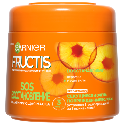 Купить GARNIER Маска для волос Fructis SOS восстановление, 300 мл