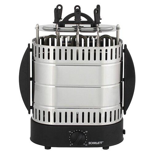 Шашлычница Scarlett SC-KG226T99 черный/серебристый