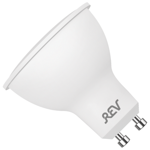 Фото - Лампа светодиодная REV 32329 7, GU10, PAR16, 5Вт лампа светодиодная led e27 8 5вт 220v 2700к rev