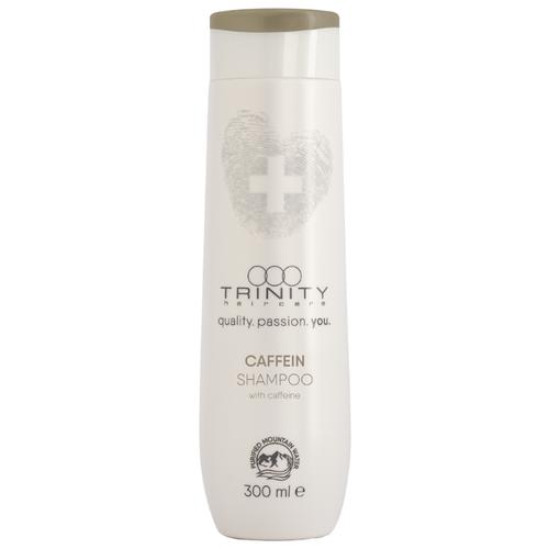 Trinity шампунь Caffein против выпадения волос укрепляющий, 300 мл ducray неоптид лосьон от выпадения волос для мужчин 100 мл