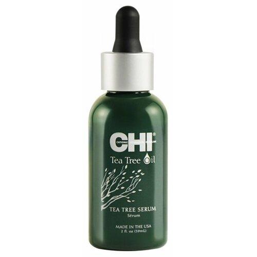 CHI Tea Tree Oil Сыворотка для волос с маслом чайного дерева, 59 мл chi luxury black seed oil curl defining cream gel