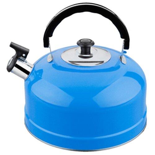 Irit Чайник со свистком IRH 2.5 л, голубой набор форм для выпечки irit irh 924