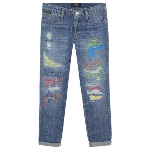 Джинсы Ralph Lauren размер 140, голубой джинсы ralph lauren размер 140 синий