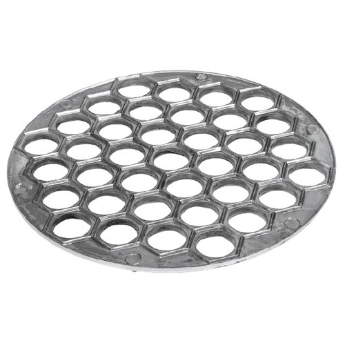Форма для пельменей TAS-PROM 3851940, серебристый форма для пельменей kuchenprofi форма для пельменей сталь 18 10 08 0360 28 00