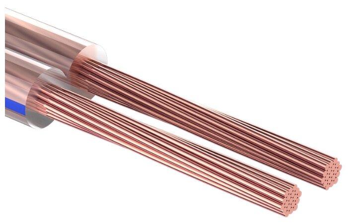 Купить Акустический кабель REXANT 2х1,5 мм² в прозрачной оболочке из ПВХ (10 м) по низкой цене с доставкой из Яндекс.Маркета (бывший Беру)