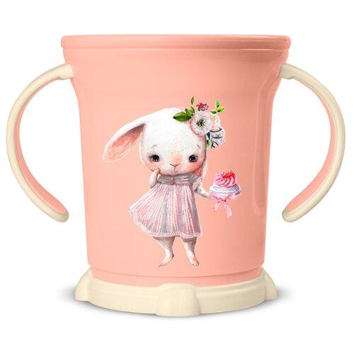 Купить Чашка Пластишка с декором (431306133), светло-розовый, Посуда