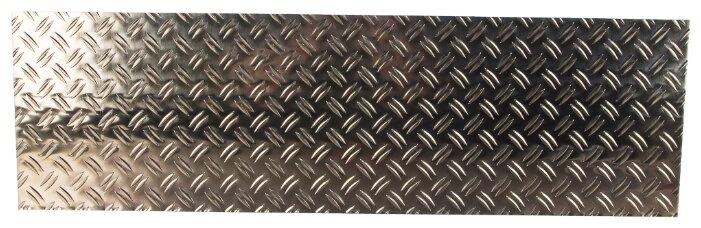 Лист рифленый алюминиевый GAH ALBERTS 466718 1000х300 мм