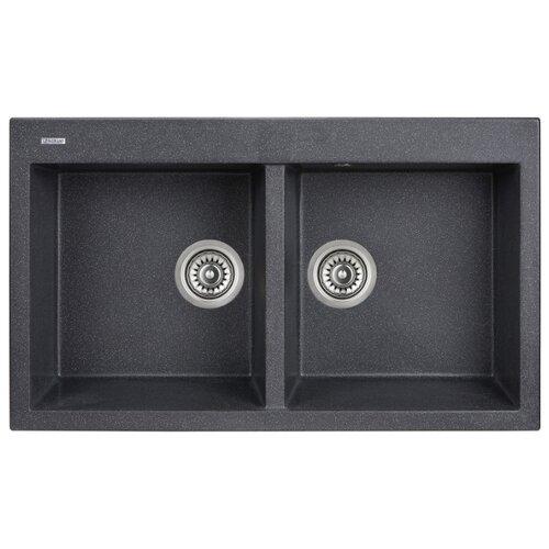 Фото - Врезная кухонная мойка 86 см Longran Amanda AMG 860.500 20 lava/40 врезная кухонная мойка 78 см longran amanda amg 780 500 15 lava 40